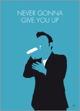 Premium poster Rick Astley - Never Gonna Give You Up