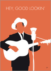 Premium poster No253 MY Hank Williams Minimal Music poster