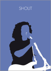 Premium poster No268 MY Tears for Fears Minimal Music poster