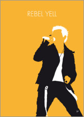 Premium poster Billy Idol - Rebel Yell