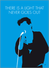 Premium poster The Smiths - There Is A Light That Never Goes Out