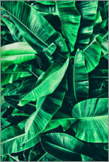 Canvas print  Powerful green - Art Couture