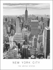 Premium poster  New York City - Art Couture