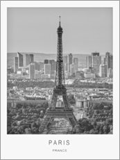 Acrylic print  Paris - Art Couture