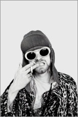 Premium poster  Kurt Cobain - Celebrity Collection