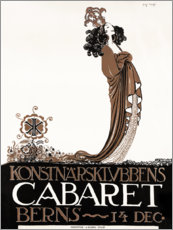 Wall sticker  Cabaret Berns - John Bauer