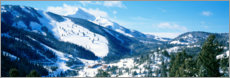 Premium poster Snow covered mountains