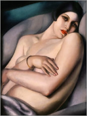 Wood print  The dream - Tamara de Lempicka