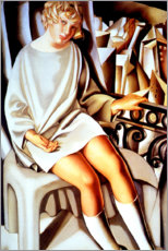 Gallery print  Kizette on the balcony - Tamara de Lempicka
