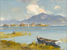 Wood print  Fraueninsel, Chiemsee - Hans Maurus