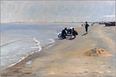 Acrylic print  South beach at Skagen - Peder Severin Krøyer