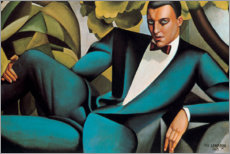 Acrylic print  Portrait of the Marquis d'Afflitto - Tamara de Lempicka