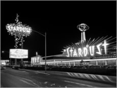 Foam board print  Stardust Casino in Las Vegas