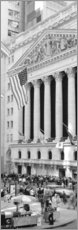 Acrylic print  Facade of the New York Stock Exchange