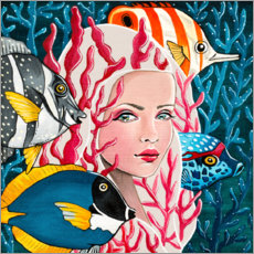 Premium poster  Beauties of the sea - Mandy Reinmuth