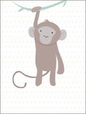 Canvas print  Monkey - ilaamen Pelshaw