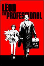 Foam board print  Léon the professional - Paola Morpheus