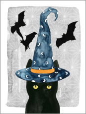Premium poster  Black Cat I - Grace Popp