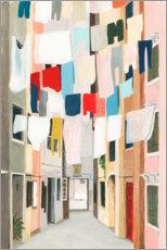 Gallery print  Washing day I - Grace Popp