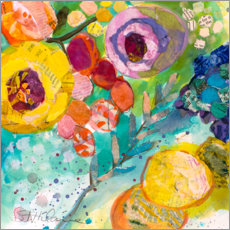 Gallery print  Strong flowers II - Elizabeth St. Hilaire