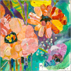 Gallery print  Strong flowers III - Elizabeth St. Hilaire