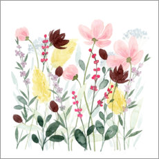 Aluminium print  May flowers II - Grace Popp