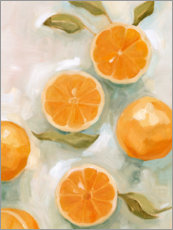 Premium poster Fresh citrus fruits I