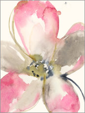 Gallery print  Magenta petals I - Jennifer Goldberger