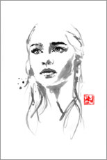 Wall sticker  Daenerys Targaryen I - Péchane