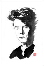 Canvas print  David Bowie - Péchane