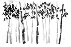 Premium poster Bamboos forest