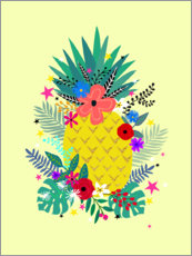 Wall sticker  Amazing Pinapple - Elisandra Sevenstar