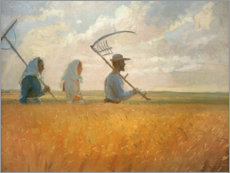 Gallery print  Harvest time - Anna Ancher
