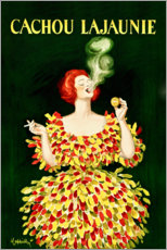 Foam board print  Cachou Lajaunie licorice - Leonetto Cappiello