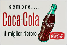 Premium poster Coca Cola advertising
