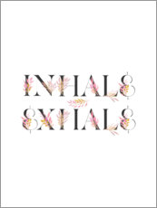 Foam board print  Inhale Exhale - Emanuela Carratoni