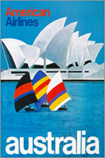 Premium poster  Australia - Travel Collection