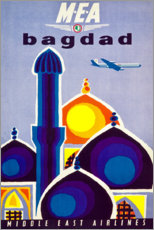 Canvas print  Baghdad - Travel Collection
