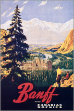 Premium poster  Banff - Travel Collection