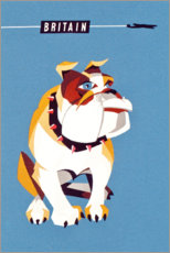 Premium poster British Bulldog (English)