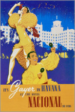 Premium poster  Hotel National of Cuba (spanish) - Travel Collection