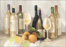 Premium poster Wine and fruit I
