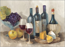 Foam board print  Wine and fruit II - Albena Hristova