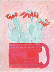 Foam board print  Red cup - Lynn Mack