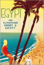 Premium poster  Egypt (English) - Travel Collection
