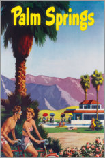 Gallery print  Palm Springs - Travel Collection