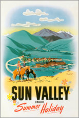Gallery print  Sun Valley - Travel Collection