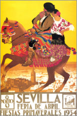 Premium poster  Seville (spanish) - Travel Collection