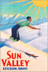 Premium poster  Sun Valley - Travel Collection
