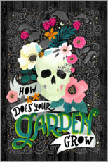 Wall sticker How Does Your Garden Grow